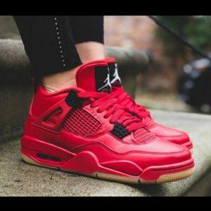 Nike Air Jordan IV Singles Days Sz 7